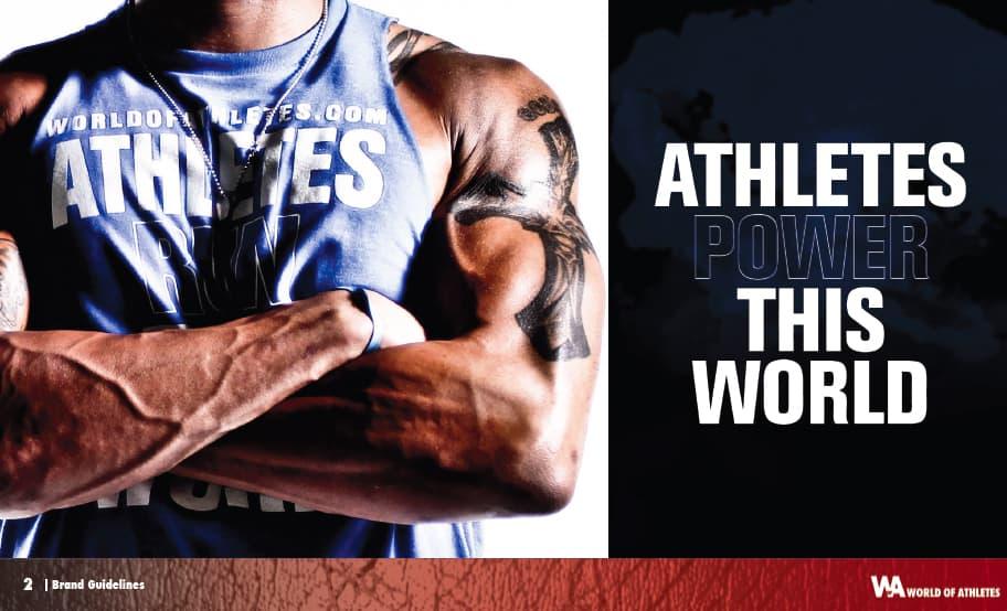 World of Athletes Branding Guideline: Branding for Businesses Phoenix Arizona