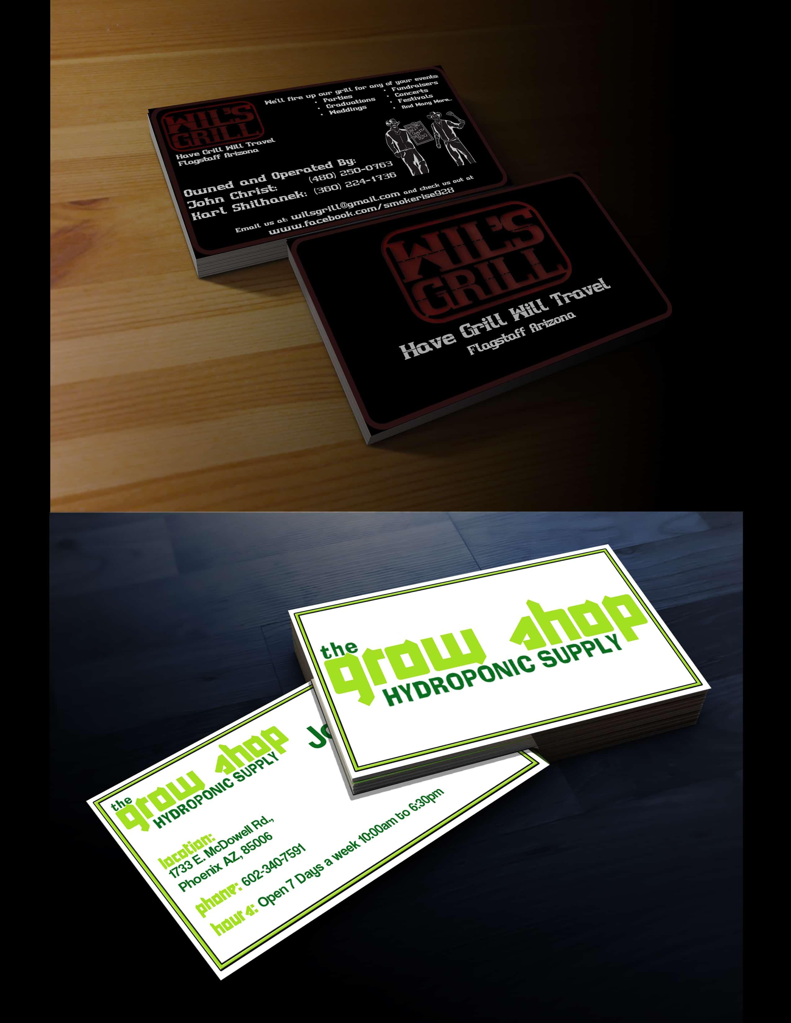 Biz Card Mockup 1