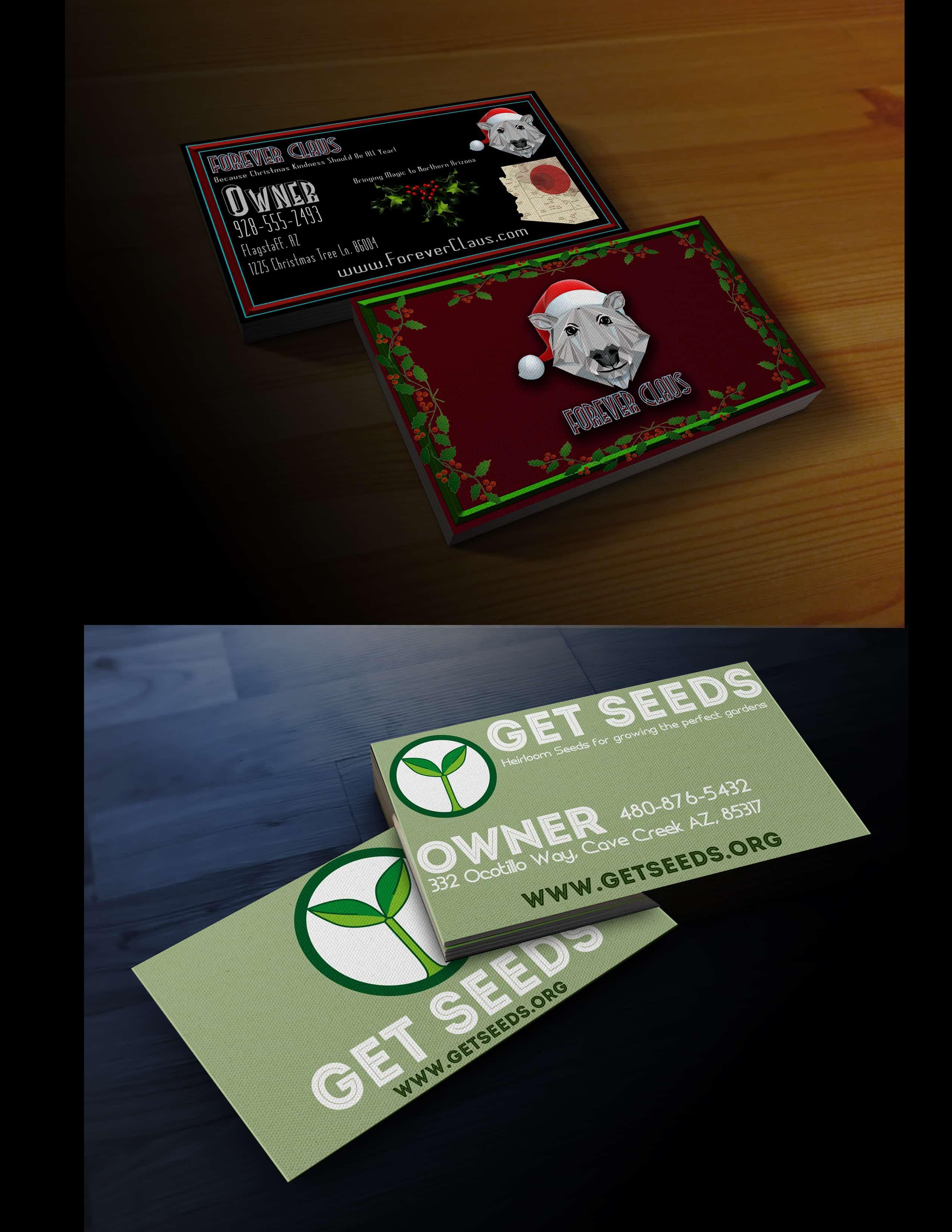 Biz Card Mockup 2