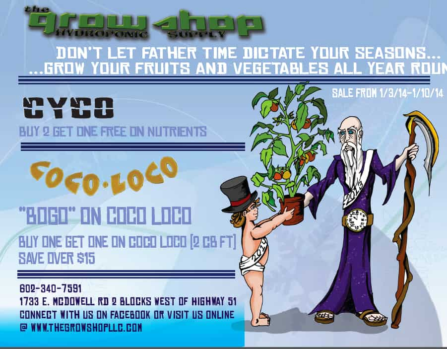 Grow Shop Flyer Page 1