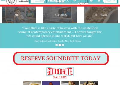 1. Soundbite Front Page