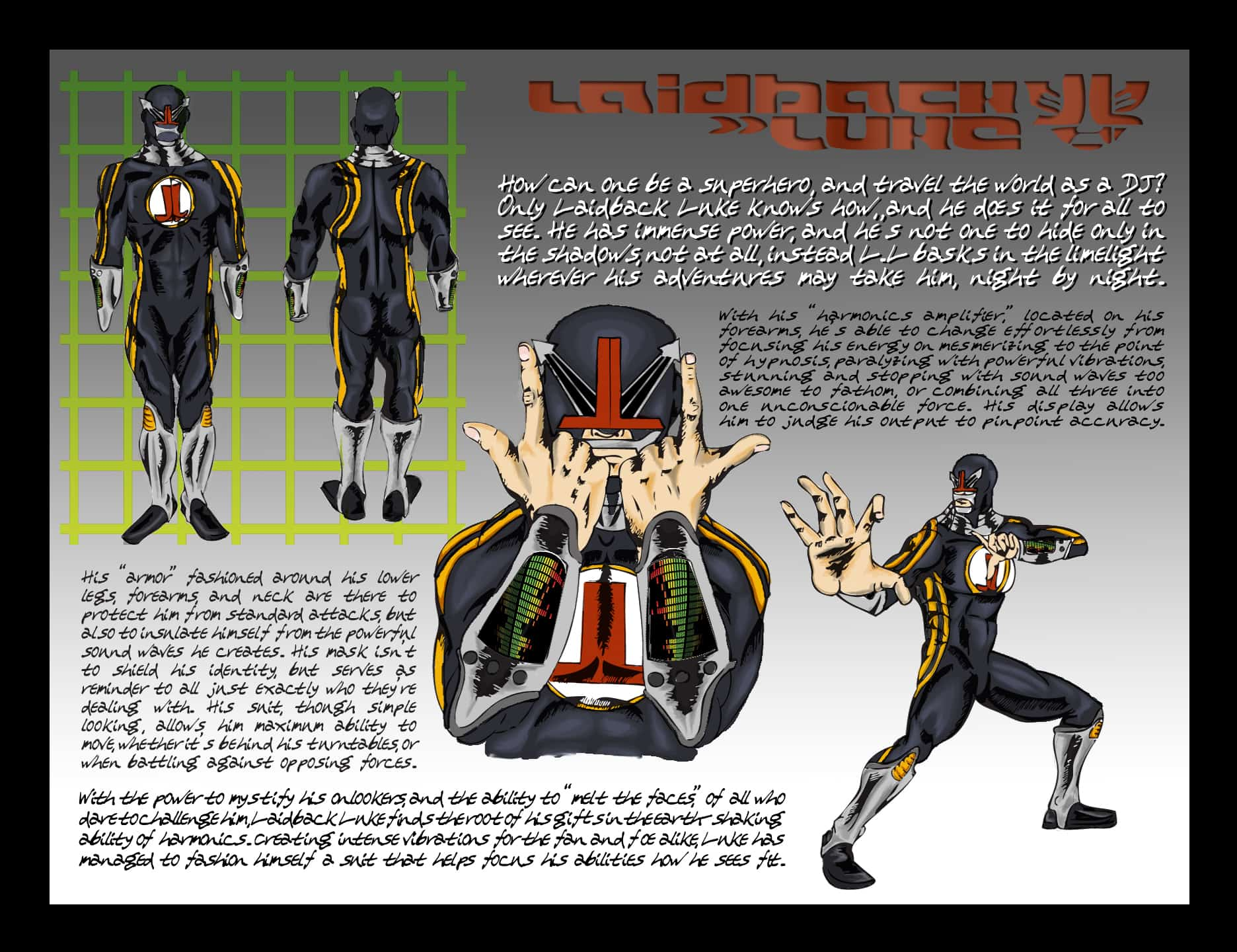 Laidback Luke Costume Design Estevan Bellino