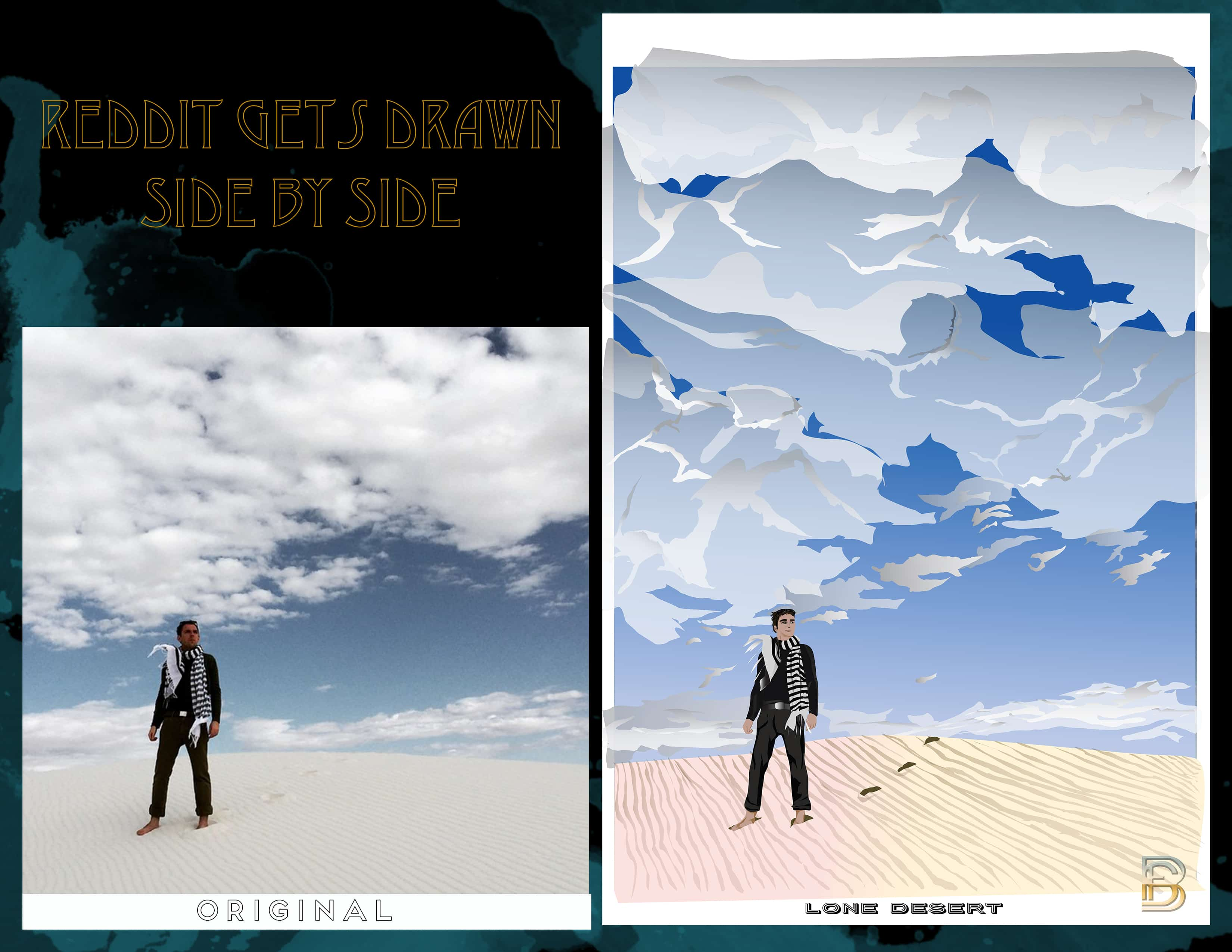 Lone Desert Side by Side