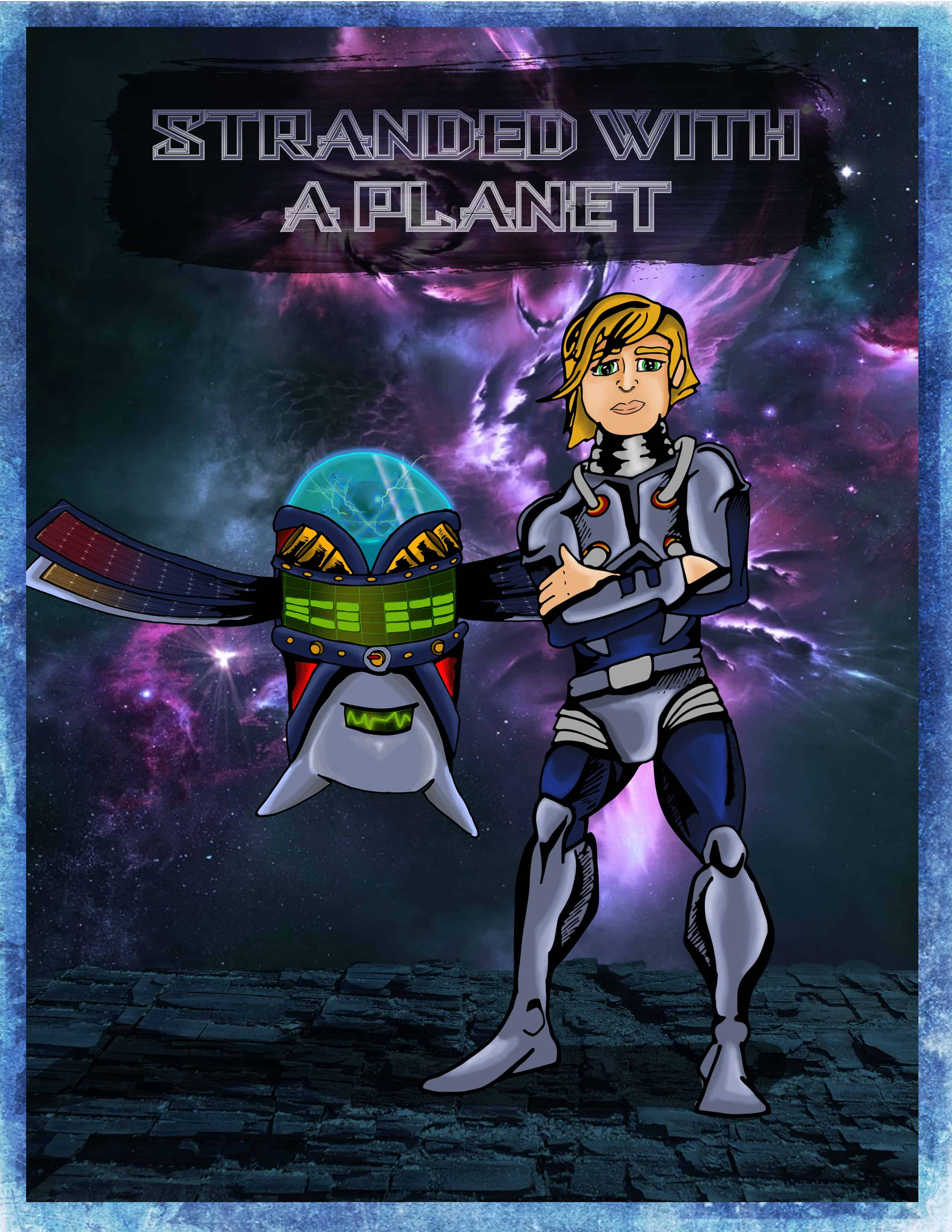 Stranded in Space Front Cover