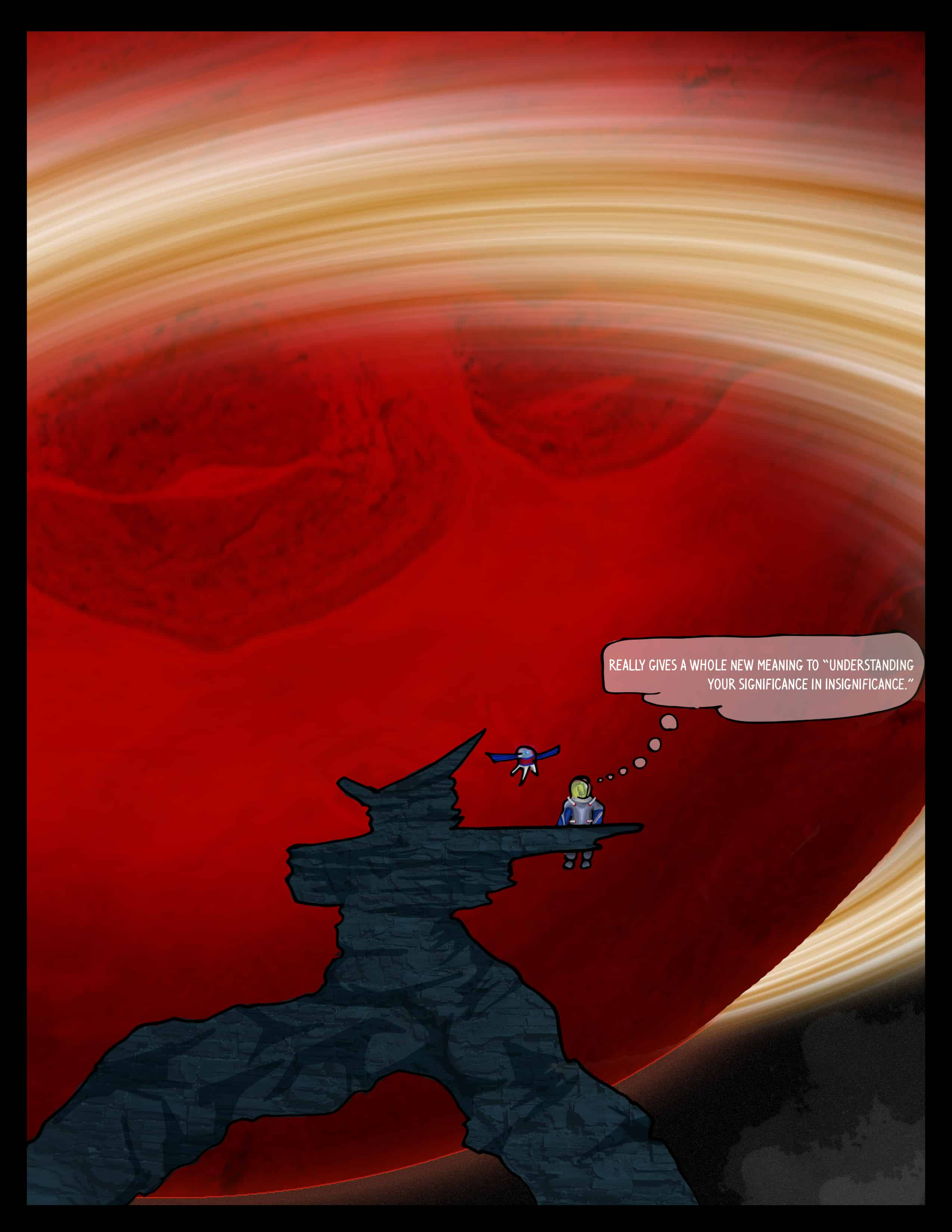 Stranded on a Planet Page 2