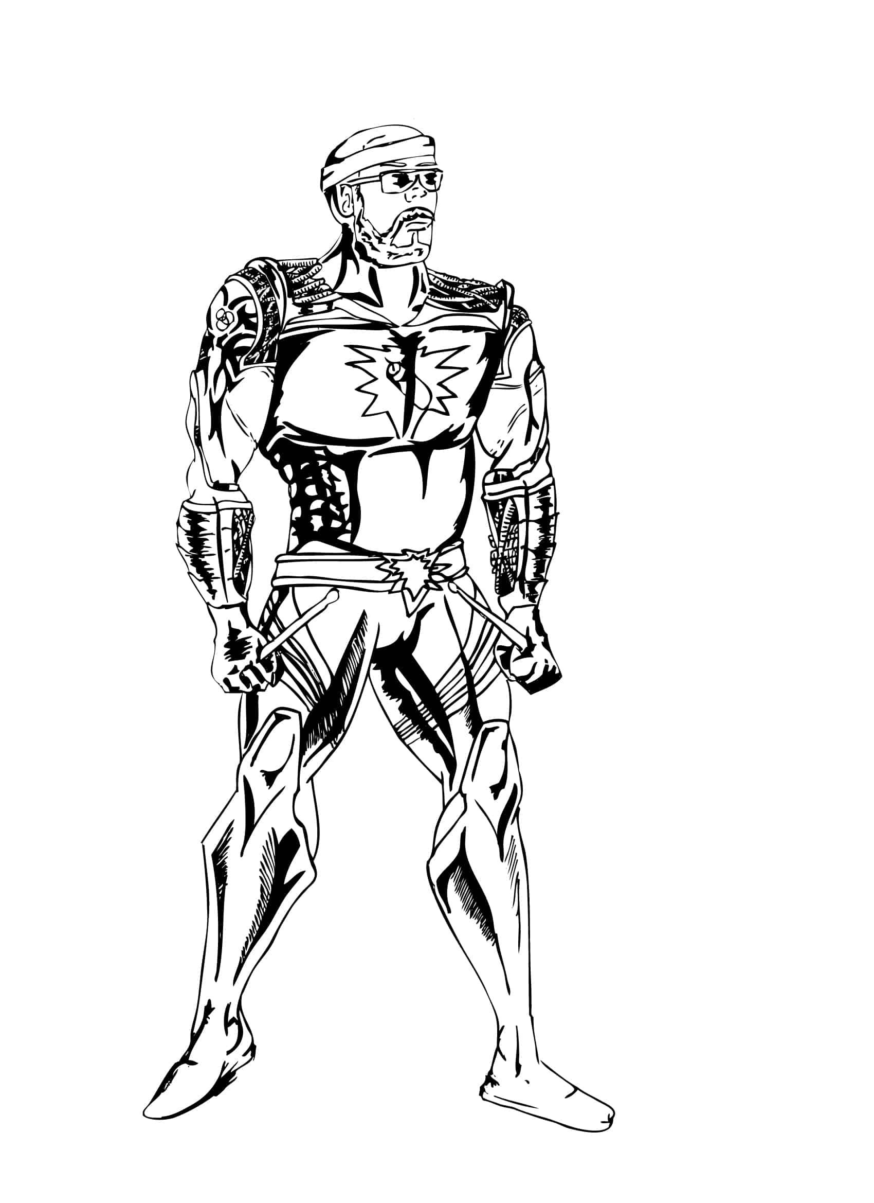 chris inked superhero 1ai